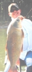 Photo of Carp Caught by Robert with Mepps FAT Tube in Montana - Mepps