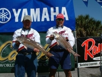 Photo of Redfish Caught by Captain Troy with Mister Twister  in Florida