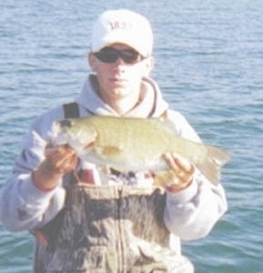 Photo of Bass Caught by John with Mister Twister FAT Tube in Michigan - Mister Twister