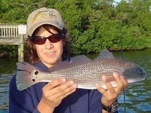 Photo of Redfish Caught by Joey with Mister Twister  in Argentina
