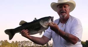 Photo of Bass Caught by Lee with Mister Twister Ribbon Tail in Florida