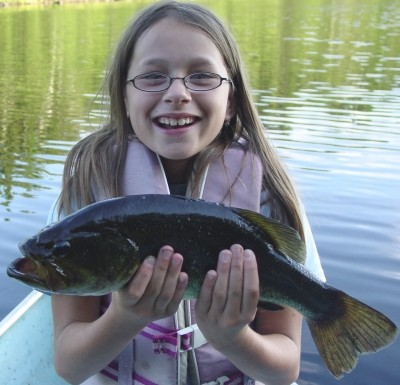 Photo of Bass Caught by Morghan with Mister Twister Exude™ 4
