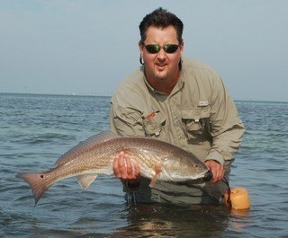 Photo of Redfish Caught by Bill with Mister Twister Exude™ 5