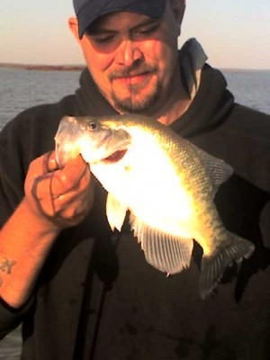 Photo of Crappie Caught by Troy with Mister Twister Teenie™ - 2