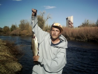Photo of Trout Caught by Nick with Mister Twister Sassy Shad® in Colorado