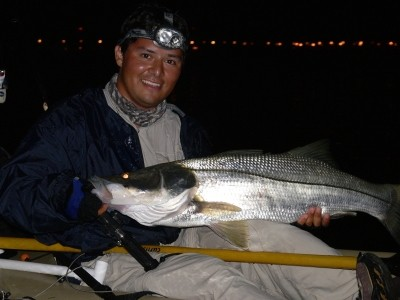 Photo of Snook Caught by Jose with Mister Twister Exude™ 5