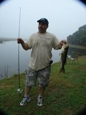 Photo of Bass Caught by Bruce with Mister Twister Sassy Shad® - Freshwater & Saltwater in Florida