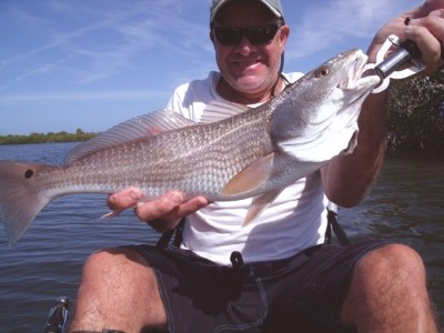 Photo of Frank's 3/15/09 Redfish
