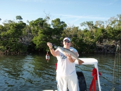 Photo of Redfish Caught by Jim with Mister Twister Exude™ RT Slug in Florida
