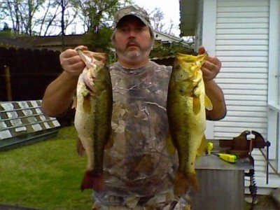 Photo of Rickey's 3/28/09 Bass, Largemouth