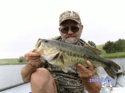 Photo of Bass Caught by Mike with Mister Twister 3