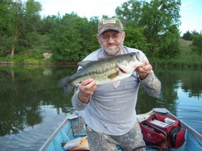 Photo of Mike's 6/10/09 Bass, Largemouth