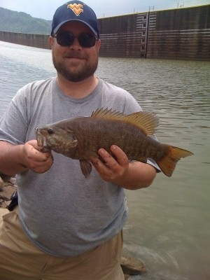 Photo of Bass Caught by Michael with Mister Twister Comida in West Virginia - Mister Twister