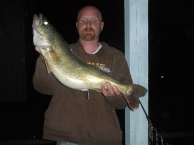 Photo of Walleye Caught by Ryan with Mister Twister 4