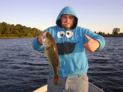 Photo of Bass Caught by Tom with Mister Twister G-Grub® in Pennsylvania