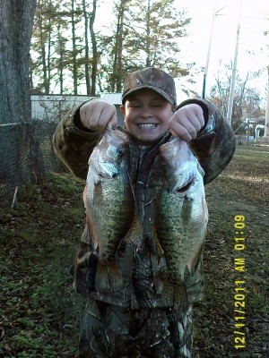 Photo of Crappie Caught by JACOB  with Mister Twister Sassy Shad® - Freshwater & Saltwater in Arkansas