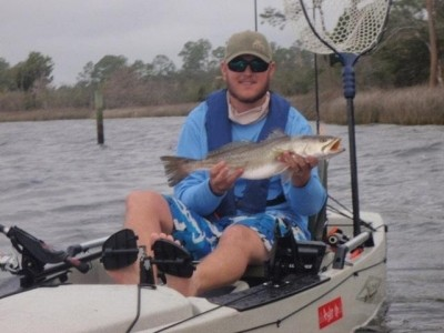 Photo of Trout Caught by Jeff with Mister Twister Exude™ D.A.R.T. in Florida - Mister Twister