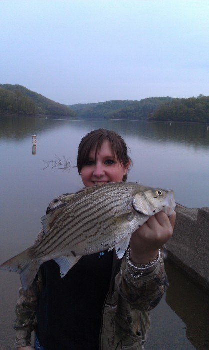 Photo of Bass Caught by Chelsea with Mister Twister 2