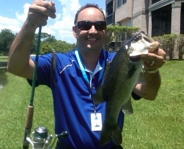 Photo of Bass Caught by Jaime with Mister Twister Exude™ 5