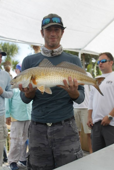 Photo of Redfish Caught by Chad with Mister Twister Exude™ 4¼