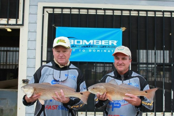 Photo of Redfish Caught by Mac with Mister Twister Exude™ Shrimp in Louisiana