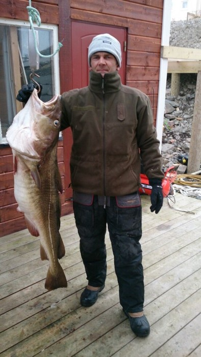 Photo of Cod Caught by Erek with Mister Twister 5