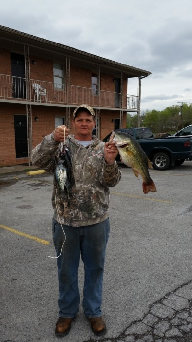 Photo of Bass Caught by Chris with Mister Twister 10
