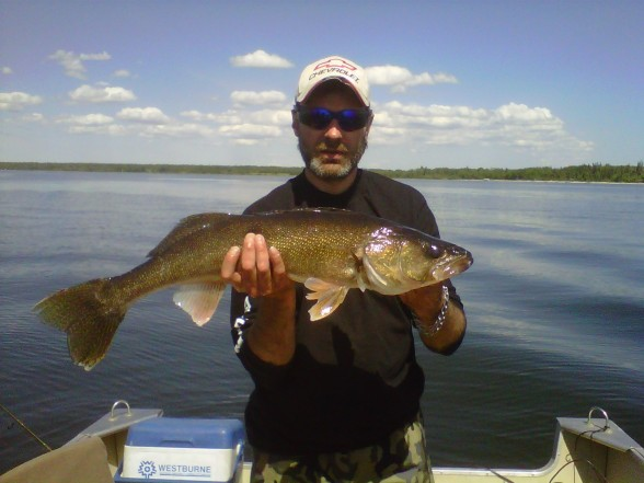 Photo of Walleye Caught by JASON with Mister Twister 4