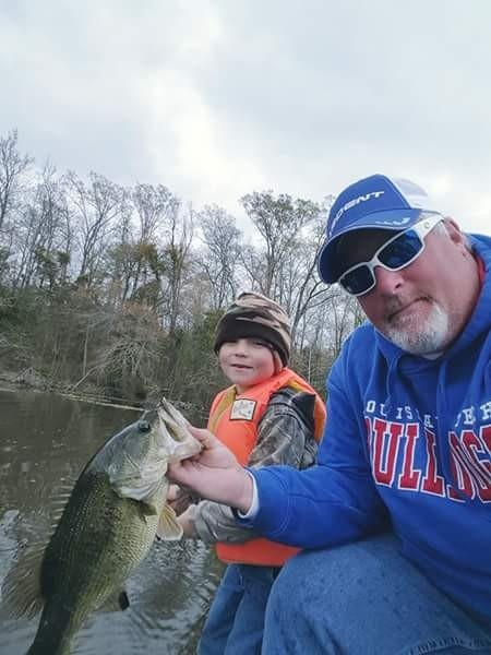 Photo of Bass Caught by Joe  with Mister Twister Comida in Louisiana - Mister Twister