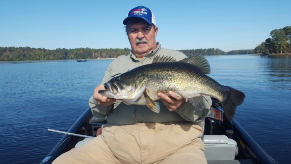 Photo of Bass Caught by Mike  with Mister Twister Poc'it® Fry in Louisiana - Mister Twister