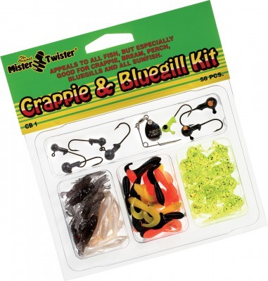 Lure Kit - Crappie & Bluegill