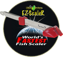Mister Twister EZ-ScaleR - World's Fastest Fish Scaler