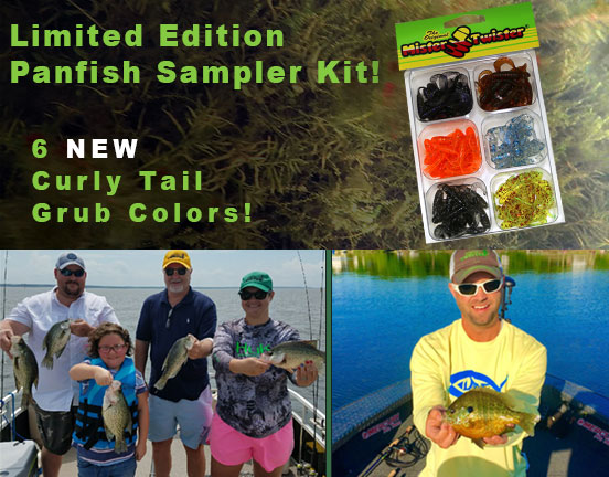 Mister Twister® Sampler Pack Web Special